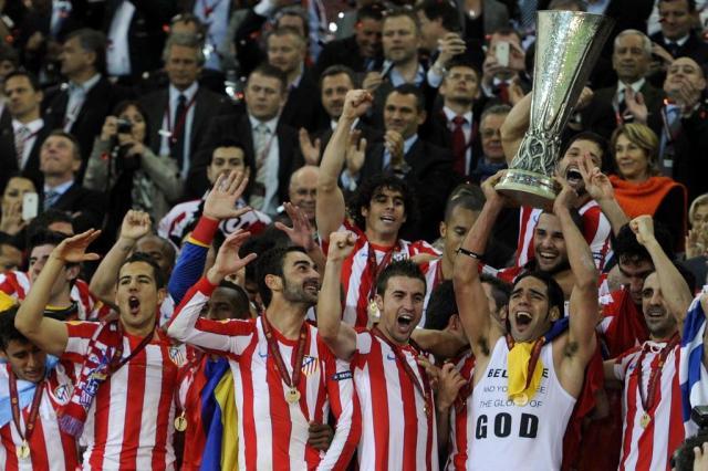 Atlético de Madrid vence Athletic Bilbao por 3 a 0 e conquista a Liga Europa Pierre-Philippe Marcou/AFP