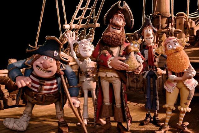 """""""Piratas Pirados!"""" estreia nesta sexta, na Capital, apenas em cópias dubladas Sony Pictures/Divulgação"""