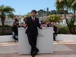 Presidente do juri o italiano Nanni Moretti faz pose na abertura do Festival de Cannes