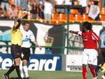 O jogador foi expulso pelo árbitro Márcio Rezende, injustamente