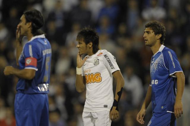 """Neymar lamenta derrota: """"Não conseguimos jogar"""" Juan Mabromata,AFP/"""