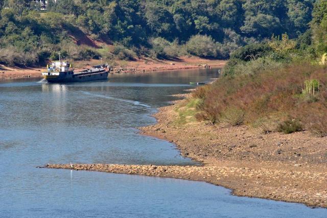 Seca do Rio Taquari encarece em 50% o transporte de soja Caco Konzen/Especial