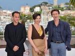 """O diretor Matteo Garrone, a atriz Loredana Simioli e o ator Nando Paone, por """"Reality"""""""