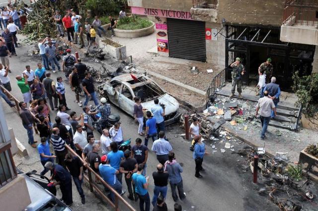 Violência na Síria chega a Beirute Bilal Hussein/AP