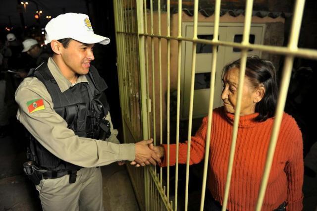 População recebe reforço no policiamento do Rubem Berta Carlos Macedo/Especial