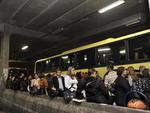 Usuários do transporte metropolitano levaram mais de uma hora para conseguir deixar a Capital