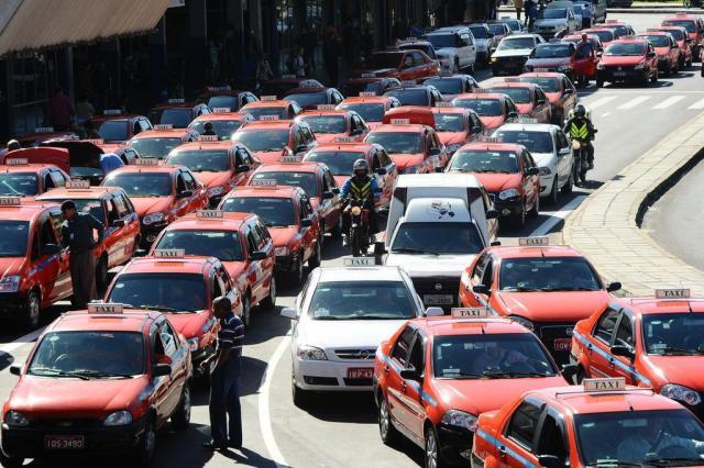 Problemas na qualificação de taxistas para a Copa alertam para a questão da capacitação profissional até 2014 Emílio Pedroso/Agencia RBS