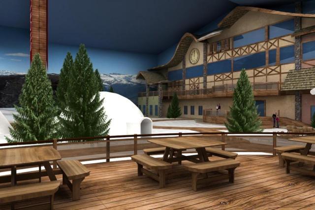Gramado terá parque com atrações na neve o ano todo Reprodução/Divulgação
