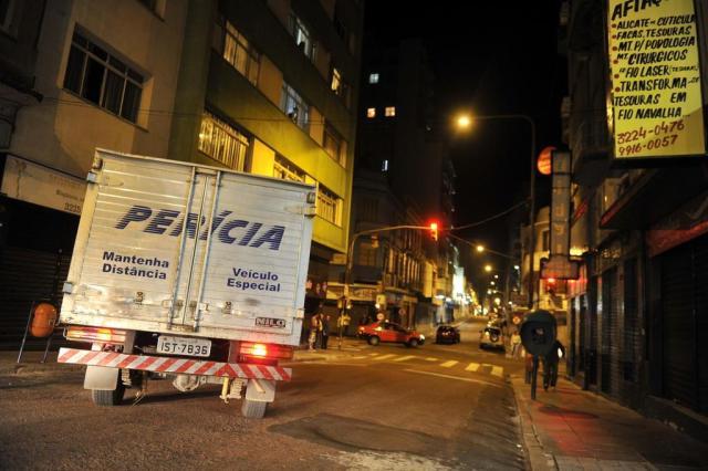 Idosa é encontrada morta em pensão no centro de Porto Alegre Félix Zucco/Agencia RBS
