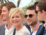 Na foto, a partir da esquerda, os atores norte-americanos Garrett Hedlund e Kirsten Dunst e os britânicos Tom Sturridge e Sam Riley.