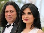 """Diretor indiano Ashim Ahluwalia e a atriz de Bollywood Niharika Singh por """"Miss Lovely"""", presenta na mostra """"Um Certo Olhar"""""""
