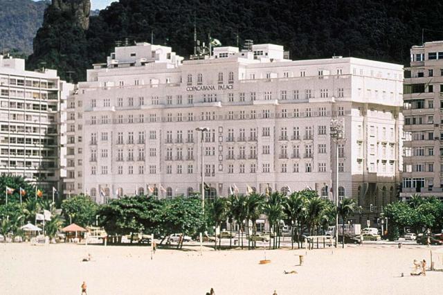 Copacabana Palace promove leilão de móveis  Divulgação/Ver Descrição