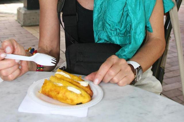 A banana assada com queijo de Guayaquil Arquivo pessoal/Arquivo pessoal