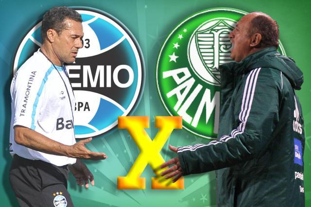 GRÁFICO: confira o almanaque do duelo entre Grêmio x Palmeiras Editoria de arte online/ZH