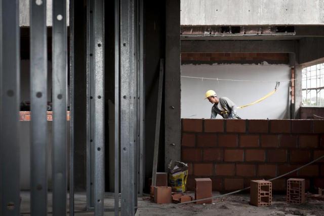 Construção de novo hospital avança na zona sul da Capital Mateus Bruxel/Agencia RBS