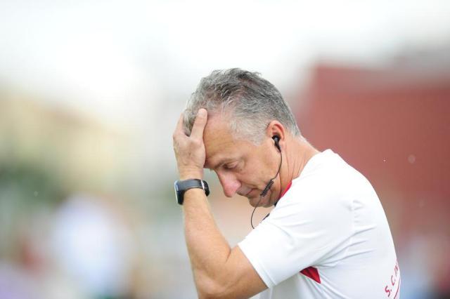 Dorival reclama da quantidade de lesões e pede cautela com entrada de Fred Ricardo Duarte/Agencia RBS