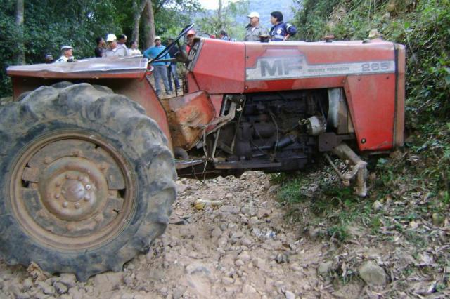 Agricultor morre esmagado por trator em Dona Francisca, na Região Central Polícia Civil/divulgação