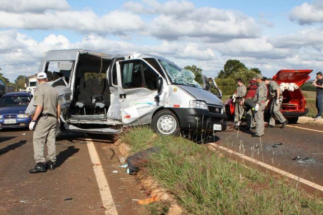 Três pessoas morrem em acidente de trânsito em São Martinho Carlos Roberto Grün/Especial