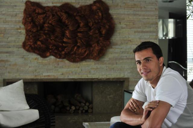 """Nilmar: """"Tenho vontade de voltar a fazer gols no Beira-Rio"""" Diego Vara/Agencia RBS"""