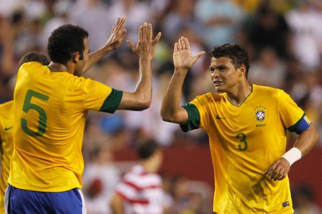 Brasil sobe no ranking da Fifa e ocupa quinta colocação  Rob Carr/Getty Images/AFP/