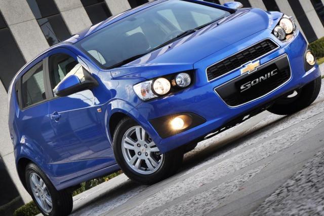 Sul-coreano Sonic chega às concessionárias brasileiras Divulgação/Chevrolet