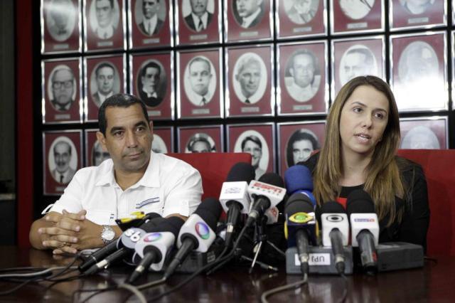 """Patricia Amorim pede """"mobilização nacional"""" da torcida contra Ronaldinho Fernando Azevedo/Fla Imagem"""