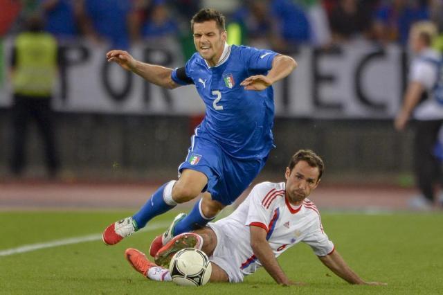 Em amistoso na Suíça, Itália joga mal e é goleada pela Rússia por 3 a 0 Frabice Coffrini/AFP