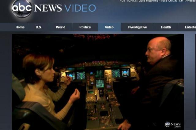 Comandante do voo AF 447 estaria com mulher instantes antes do acidente, afirma emissora Reprodução/Internet