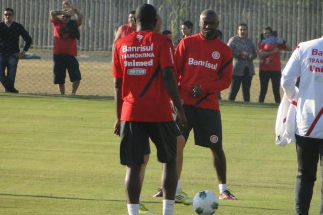 Kleber, Oscar, Damião e Guiñazu retornam aos treinos no Beira-Rio Guilherme Becker/Agência RBS