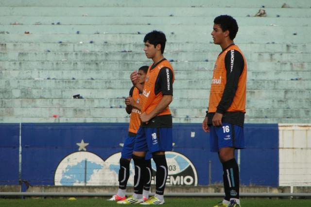 "Luxa absolve erro de Rondinelly contra o Palmeiras: ""Pensamento é de preservar"" Adriano de Carvalho/Agencia RBS"
