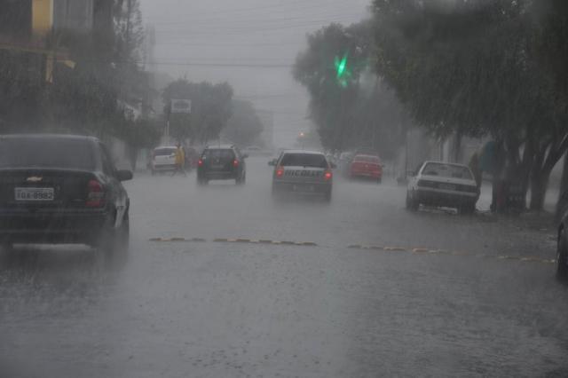 Sábado será marcado por chuva e pelo retorno do frio ao Estado Anderson Petroceli/Especial