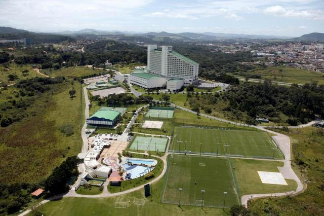 Grêmio vai usar bolha de ar Divulgação/Hotel Bourbon Atibaia