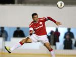 Leandro Damião fez de cabeça assistência para o gol de Dagoberto
