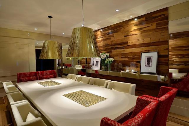 Mesa de design é estrela da Sala de Jantar  Eduardo Liotti,Divulgação/Eduardo Liotti,Divulgação