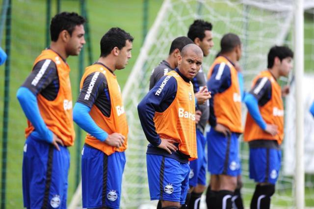 Em último treino, Grêmio define cobradores em caso de decisão por pênaltis Ricardo Duarte/Agencia RBS
