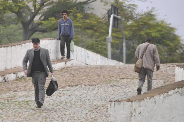 Primeira manhã de inverno tem frio e cerração no Rio Grande do Sul Tadeu Vilani/Agência RBS