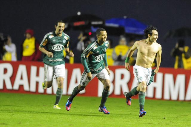 """Classificado à decisão, Felipão valoriza jogadores do Palmeiras: """"É a nossa final"""" Ricardo Duarte/"""