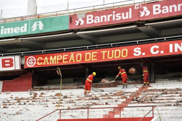 Inter teme prejuízos com o Beira-Rio interditado, como ocorreu com Atlético e Cruzeiro sem o Mineirão e Independência Omar Freitas/Agencia RBS
