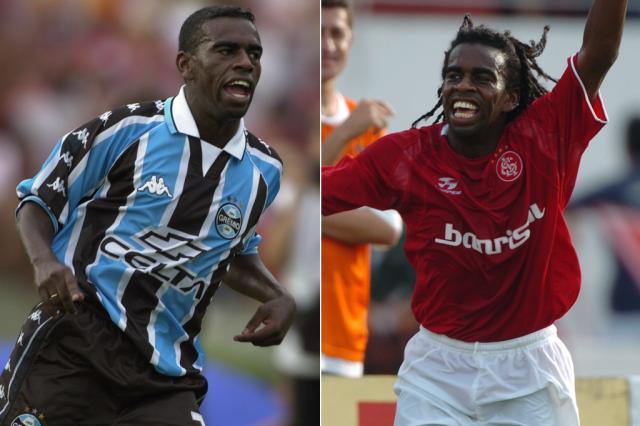Sandro Silva e Rafael Sobis podem engrossar a lista de atletas que defenderam Grêmio e Inter Montagem sobre fotos de Mauro Vieira /
