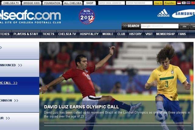 Chelsea se antecipa e anuncia David Luiz na Olimpíada Reprodução, Chelsea/