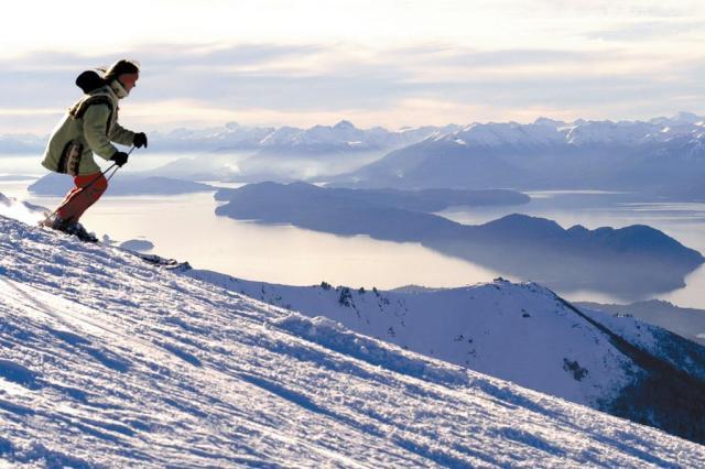 Sem as cinzas do vulcão, Bariloche lança alta temporada Secretaria de Turismo da Argentina/Divulgação