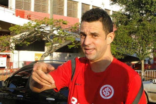 FOTO: Magrão, ex-Inter, aproveita férias para manter a forma no Beira-Rio Guilherme Becker/Agência RBS