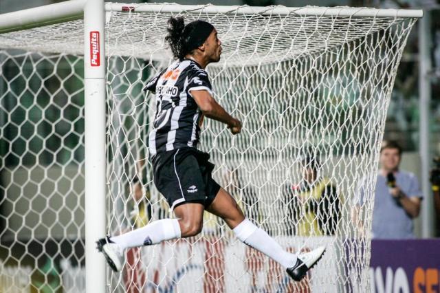 Em lua de mel com o Atlético-MG, Ronaldinho deixou de lado a vida noturna Bruno Cantini,Atlético-MG/Divulgação
