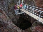 """Tour """"Por dentro do Vulcão"""" virou uma opção de turismo na Islândia"""