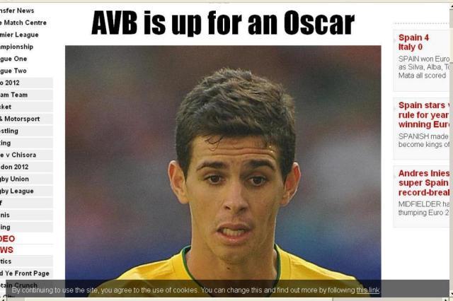"""Oscar confirma sondagem do Tottenham: """"Conversaram com meu empresário"""" Reprodução/Reprodução"""