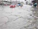 Depois da seca a chuvarada e deu enchente em Pelotas/RS