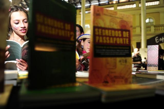 Festa da Leitura vai até sábado no Mercado Público de Porto Alegre Ricardo Duarte/Agencia RBS