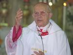 Dim Eugênio, em missa na igreja de Santana, no Rio de Janeiro, era o mais antigo cardeal da Igraja Católica.