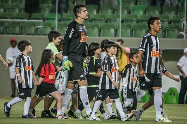 """Victor: """"Estou impressionado com a estrutura da Cidade do Galo"""" Divulgação, Atlético-MG/"""