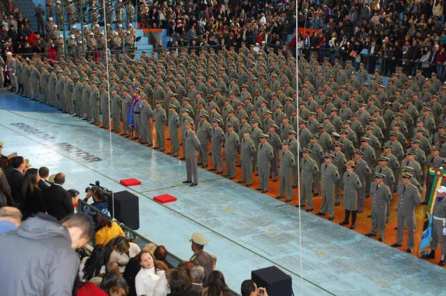 Cerimônia da BM forma 416 novos sargentos em Porto Alegre Osmar Nólibos,Brigada Militar/Divulgação
